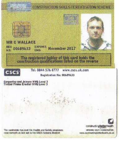Cscs Gold Card >> Cscs Gold Card Welcome To Plotform Limited